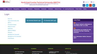 Neftu University Student Login