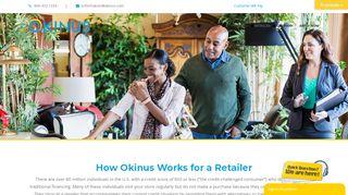 Okinus Dealer Portal Login
