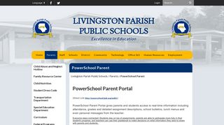 Powerschool Login Lpsb