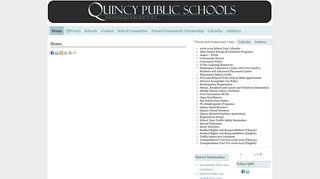 Quincy Public Schools Email Login