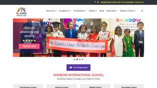 Rainbow International School Parent Portal Login