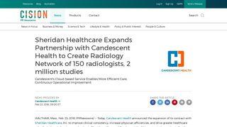 Sheridan Candescent Health Login