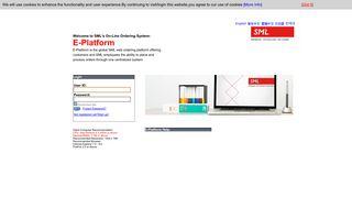 Sml E Platform Login