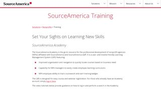 Sourceamerica Academy Login