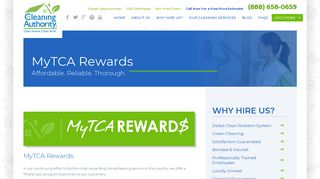 The Cleaning Authority My Tca Rewards Login