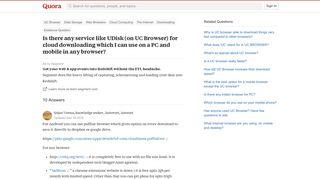 Uc Browser Udisk Login