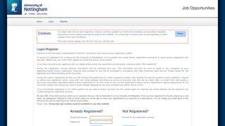 University Of Nottingham Jobs Login