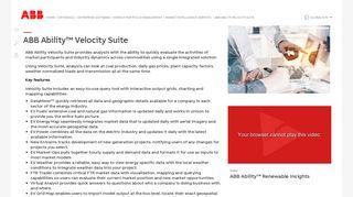 Ventyx Velocity Suite Login