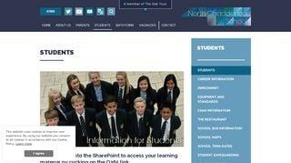 Vle North Chadderton School Login