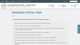 Abp Portal
