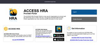 Access Hra Provider Portal