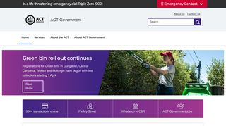 Act Government Information Portal