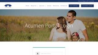 Acumen Portal