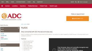 Adc Patient Portal