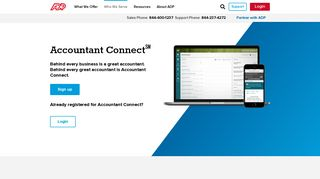 Adp Accountant Portal