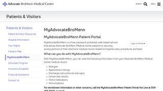 Advocate Bromenn Patient Portal