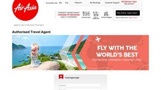 Air Asia Agent Portal