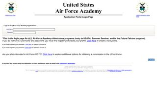 Air Force Academy Portal