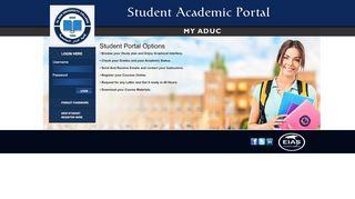 Aldar University College Portal