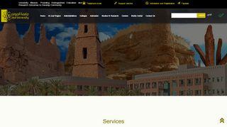 Aljouf University Portal
