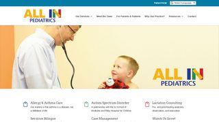 All In Pediatrics Patient Portal