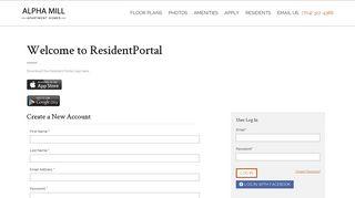 Alpha Mill Apartments Resident Portal
