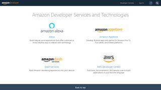 Amazon App Portal