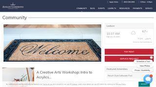 Ansley Commons Resident Portal