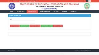 Ap Sbtet Student Portal
