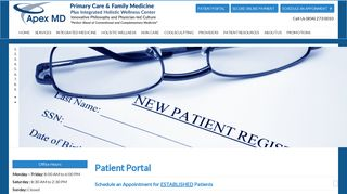 Apex Md Patient Portal