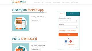 Apollo Munich Customer Portal