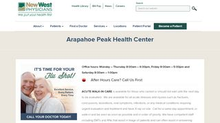 Arapahoe Peak Health Patient Portal