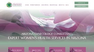 Arizona Gynecology Consultants Patient Portal