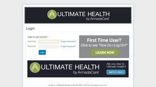 Armadacare Member Portal