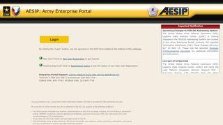 Army Enterprise Portal