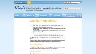 Ashe Center Portal