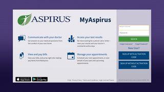 Aspirus Patient Portal