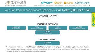 Associates In Dermatology Patient Portal