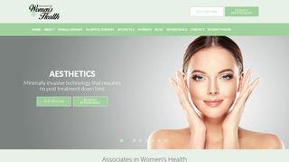Associates In Women's Health Cincinnati Patient Portal