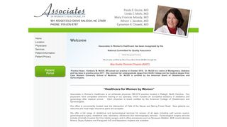 Associates In Women's Health Patient Portal