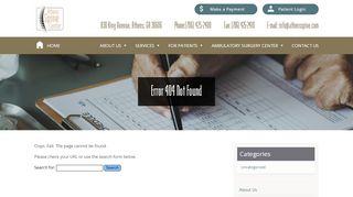 Athens Spine Center Patient Portal