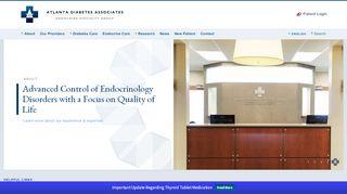 Atlanta Diabetes Associates Patient Portal
