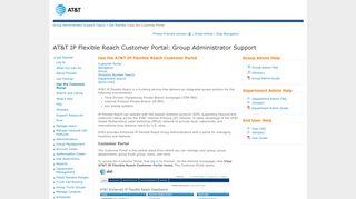 Att Customer Portal