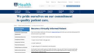 Augusta University Patient Portal