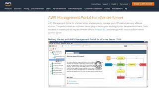 Aws Management Portal