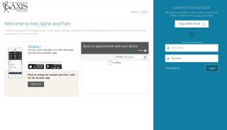 Axis Pain Center Patient Portal