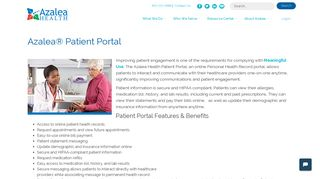 Azalea Health Patient Portal