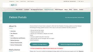 Azccc Patient Portal