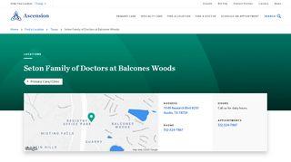 Balcones Woods Family Medicine Portal