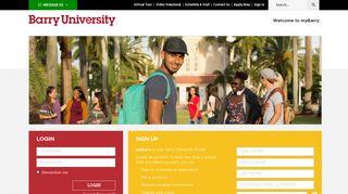 Barry University Portal